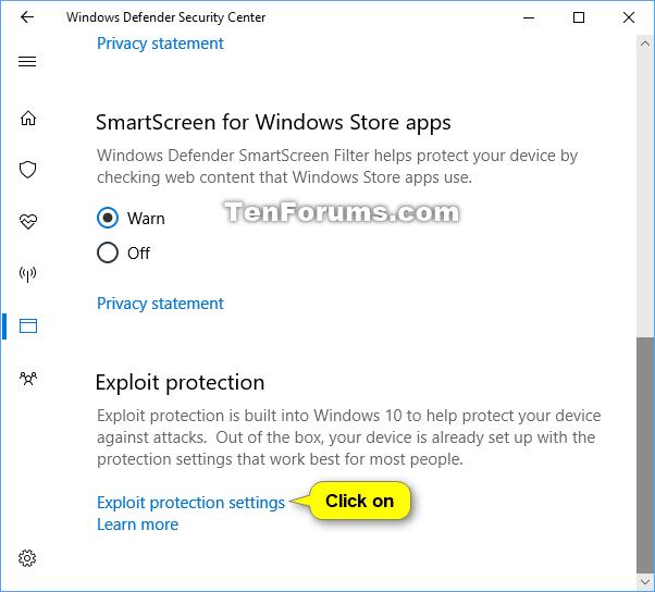 Change Windows Defender Exploit Protection Settings in Windows 10-windows_defender_exploit_protection-2.png