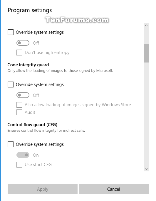 how to change port settings windows 10