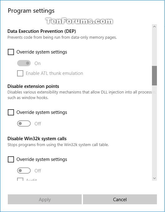Change Windows Defender Exploit Protection Settings in Windows 10-exploit_protection_edit_program_settings-4.png