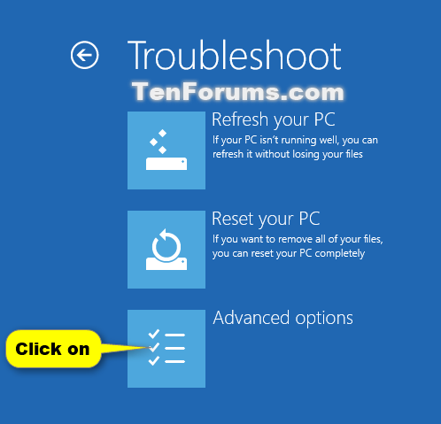 system restore windows 7 startup