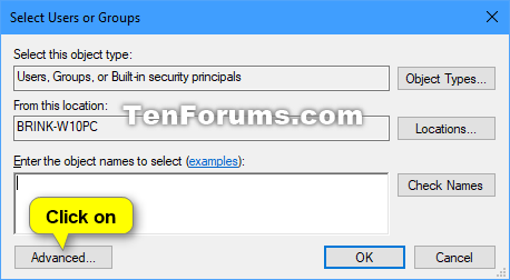 Change User Rights Assignment Security Policy Settings in