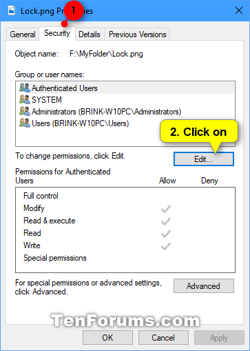 Change Permissions of Objects for Users and Groups in Windows 10-add_user_or_group_permissions-1.png