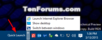 Add or Remove Quick Launch toolbar in Windows 10-quick_launch-3.png