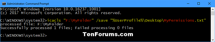 Backup and Restore Permissions of File, Folder, or Drive in Windows-backup_permissions_of_folder_command.png
