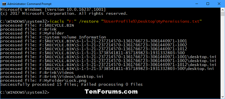 Backup and Restore Permissions of File, Folder, or Drive in Windows-restore_permissions_of_drive_command.png
