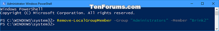 Click image for larger version.  Name:Remove_user_from_group_in_PowerShell.png Views:33 Size:19.8 KB ID:144048