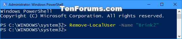 Name:  Delete_user_account_in_PowerShell.png Views: 107134 Size:  18.0 KB
