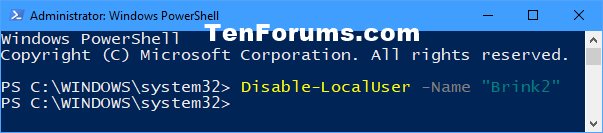 Name:  Disable_account_in_PowerShell.png Views: 25656 Size:  10.9 KB