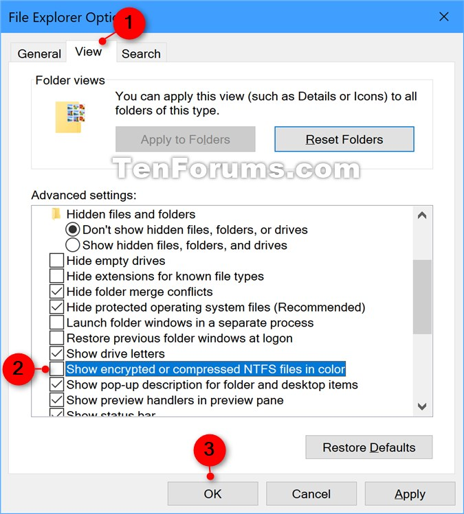 Name:  Show_encrypted_or_compressed_NTFS_files_in_color_Folder_Options.jpg Views: 882 Size:  118.2 KB