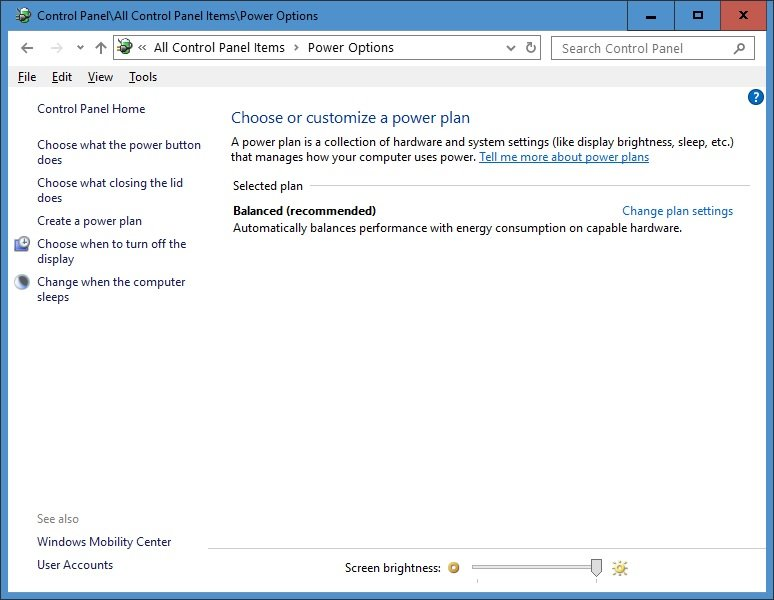 Reset and Restore Power Plans to Default Settings in Windows 10