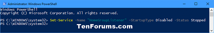 Click image for larger version.  Name:Disable_service_in_PowerShell.png Views:100 Size:11.7 KB ID:144831