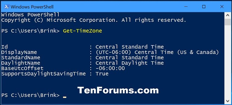 Change Time Zone in Windows 10 | Tutorials