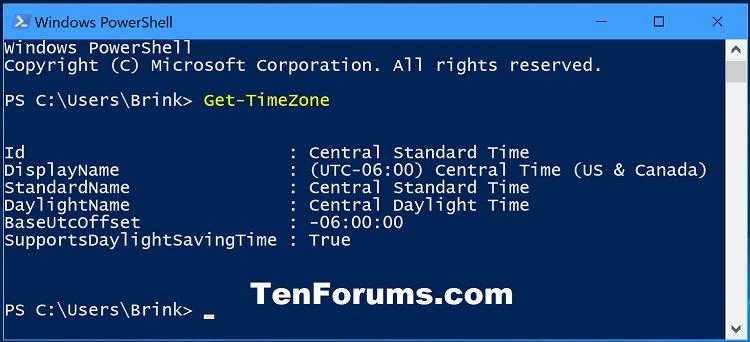 Change Time Zone in Windows 10-get_timezone_powershell.jpg