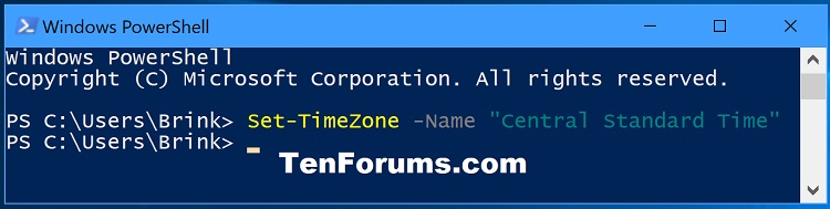 Name:  Set_TimeZone_PowerShell.jpg Views: 47400 Size:  50.0 KB