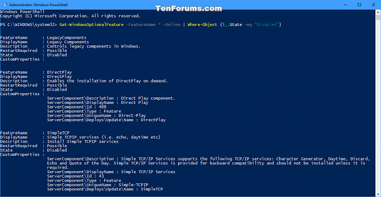 Turn Windows Features On or Off in Windows 10-get-windowsoptionalfeature-disabled.png