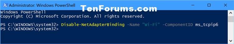 Name:  Disable_IPv6_PowerShell.jpg Views: 11335 Size:  30.4 KB