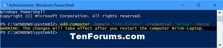 Name:  Join_Windows10_PC_to_domain_PowerShell-1.jpg Views: 14797 Size:  39.3 KB