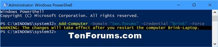 Name:  Join_Windows10_PC_to_domain_PowerShell-1.jpg Views: 6633 Size:  39.3 KB