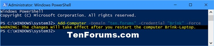 Name:  Join_Windows10_PC_to_domain_PowerShell-1.jpg Views: 18312 Size:  39.3 KB