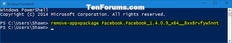 Click image for larger version.  Name:Uninstall_modern_apps_in_PowerShell-3.png Views:2079 Size:22.5 KB ID:14623