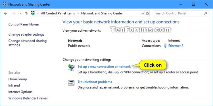 Set up and Add a VPN Connection in Windows 10 | Tutorials