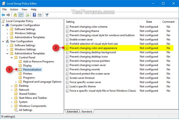 Allow or Prevent Changing Color and Appearance in Windows 10-color_and_appearance_gpedit-1.jpg
