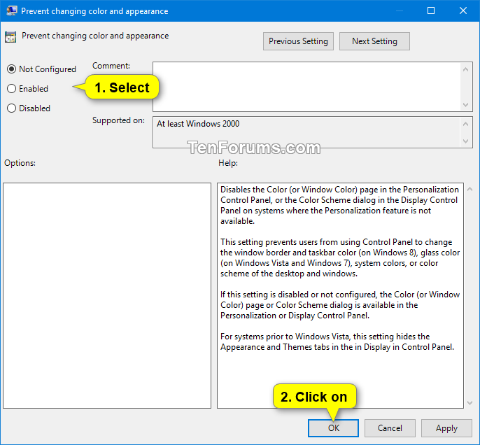Allow or Prevent Changing Color and Appearance in Windows 10-color_and_appearance_gpedit-2.png
