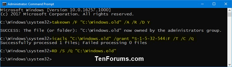 How to Delete Windows.old and $Windows.~BT folders in Windows 10-delete_windows.old_folder_command.jpg