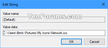 how to change my network name windows 10