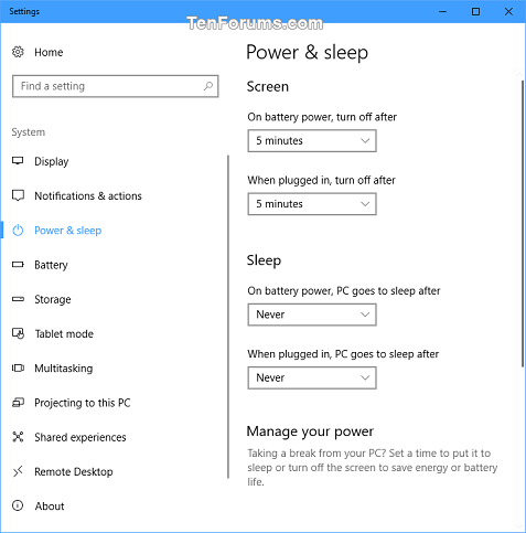 Add Power Options Context Menu in Windows 10-power_and_sleep_settings.png