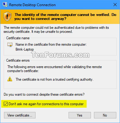 how to create remote desktop connection in windows 7