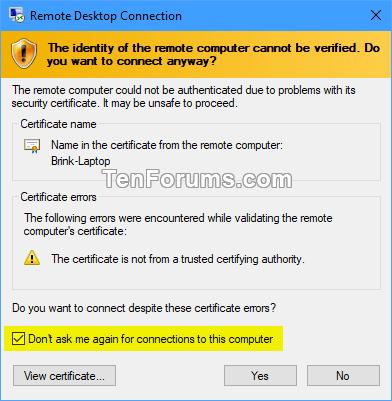 Create Remote Desktop Connection Shortcut for Specific PC in Windows-specific_pc_rdc_shortcut-6.png