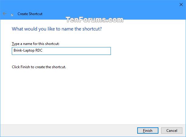 Create Remote Desktop Connection Shortcut for Specific PC in Windows-specific_pc_rdc_shortcut-3.png