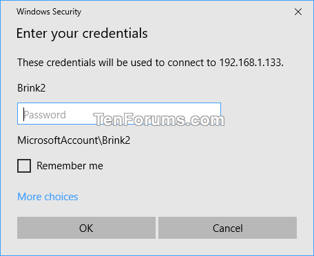 Delete Saved Credentials of Remote Desktop Connection in Windows
