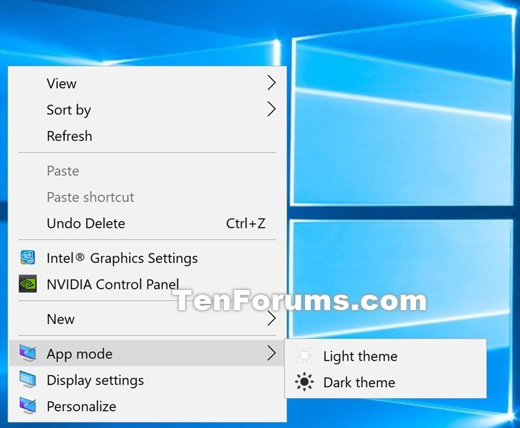 Add App Mode to Context Menu for Light or Dark Theme in Windows 10-app_mode_context_menu.jpg