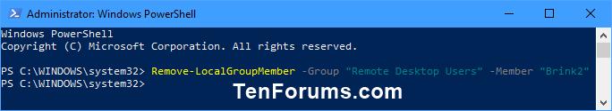 Add or Remove Remote Desktop Users in Windows-remove_remote_desktop_users_powershell.png