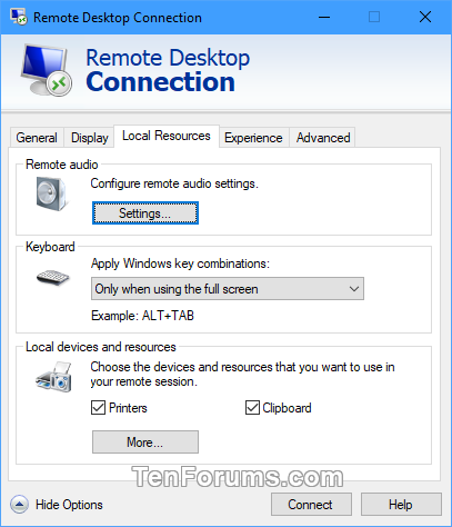 Save Remote Desktop Connection Settings to RDP File in Windows-rdc_settings-3.png