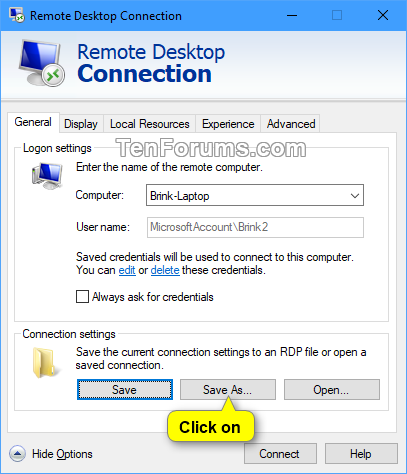 Save Remote Desktop Connection Settings to RDP File in Windows-save_rdc_settings-2.png