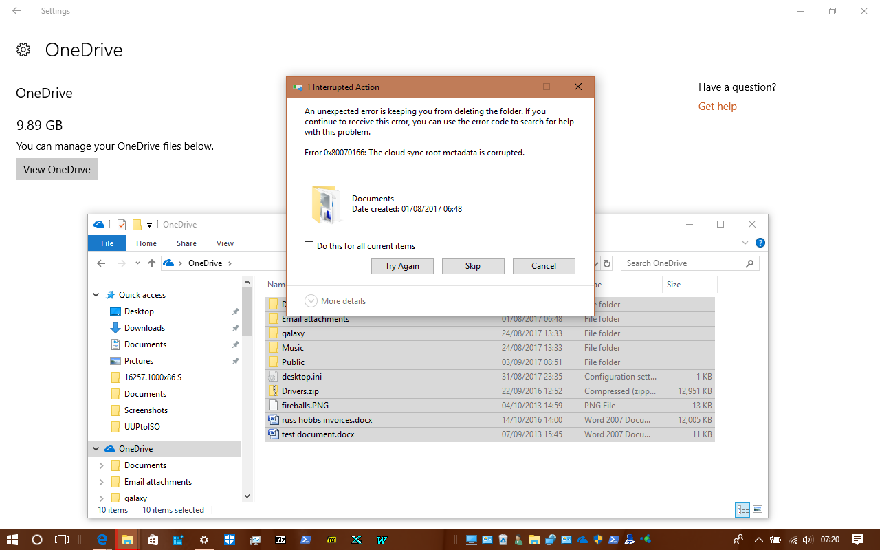 Reset OneDrive Sync in Windows 10 | Tutorials