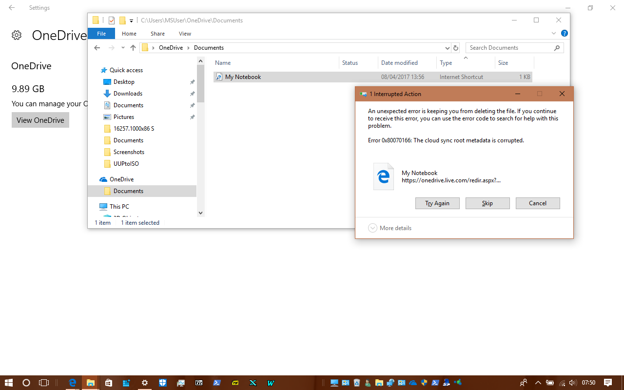 Reset OneDrive Sync in Windows 10 | Tutorials