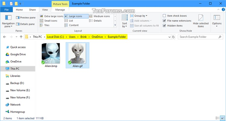 Sync Any Folder to OneDrive in Windows 10-junction_point_in_onedrive_folder.jpg
