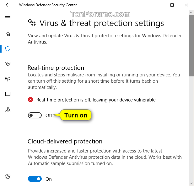 avast ou windows defender pour windows 10