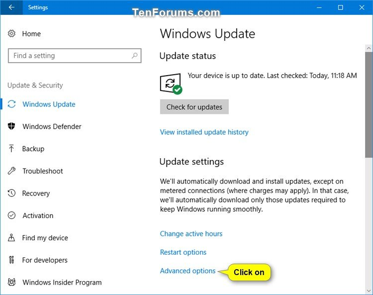 See OS and Store Update Bandwidth Usage in Windows 10