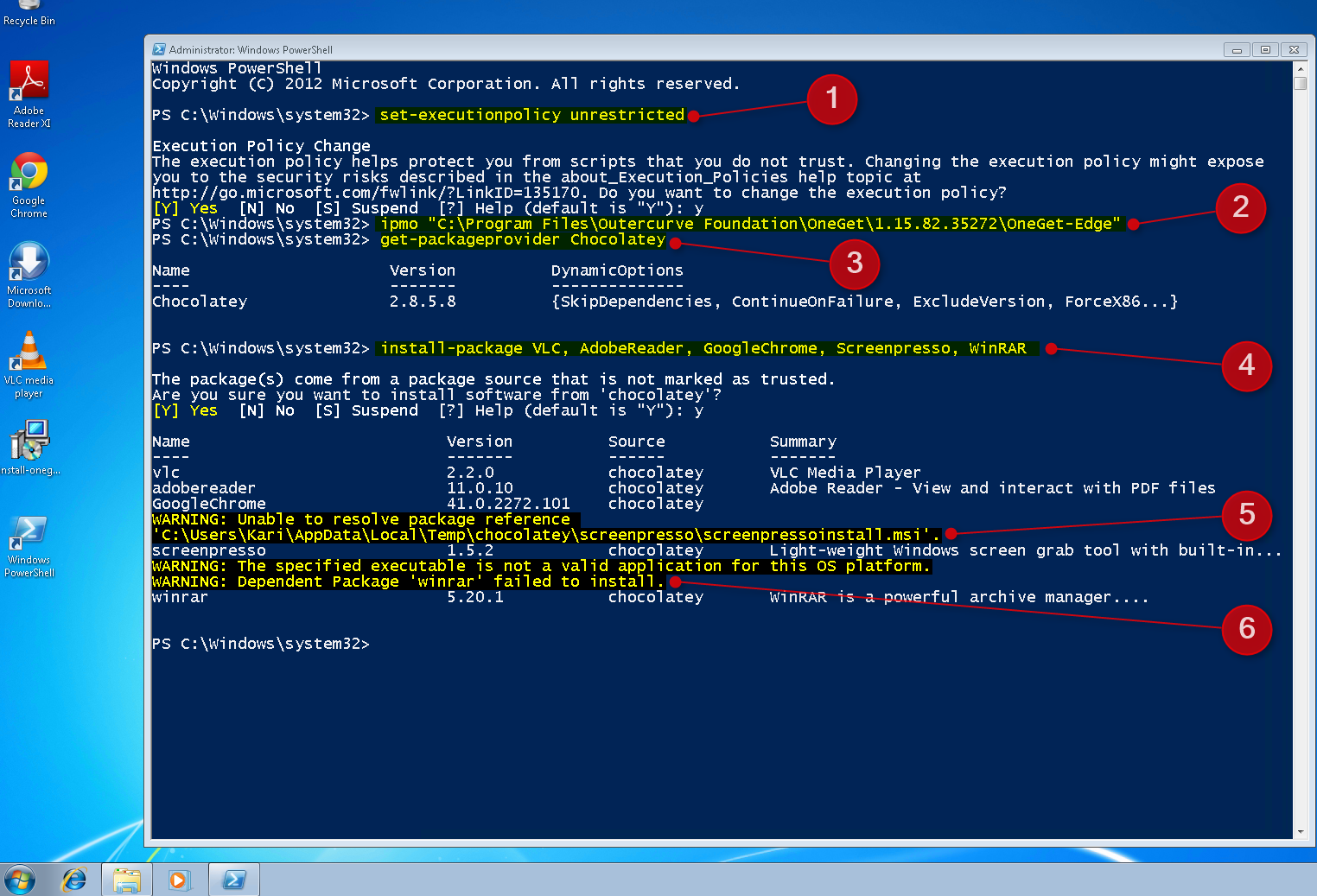 PowerShell OneGet - Install Apps from Command Line - Page 4 - Windows 10 Forums