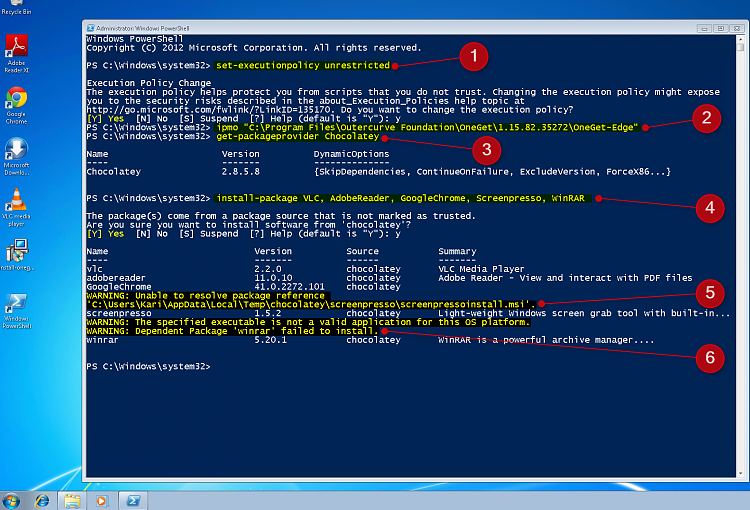 PowerShell PackageManagement (OneGet) - Install Apps from Command Line - Page 4 - Windows 10 ...
