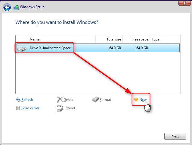 clean install windows without cd or usb