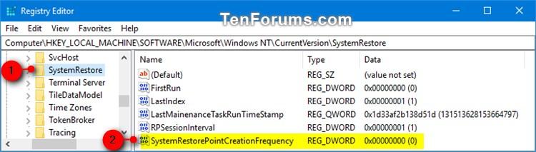 Name:  SystemRestorePointCreationFrequency_regedit-1.jpg Views: 1319 Size:  53.8 KB