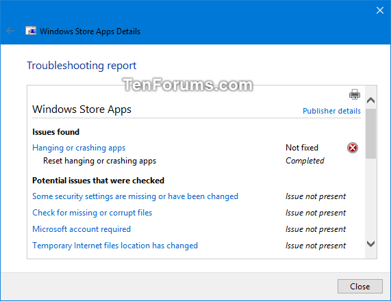 View Troubleshooting History and Details in Windows 10-view_troubleshooting_history-6.png