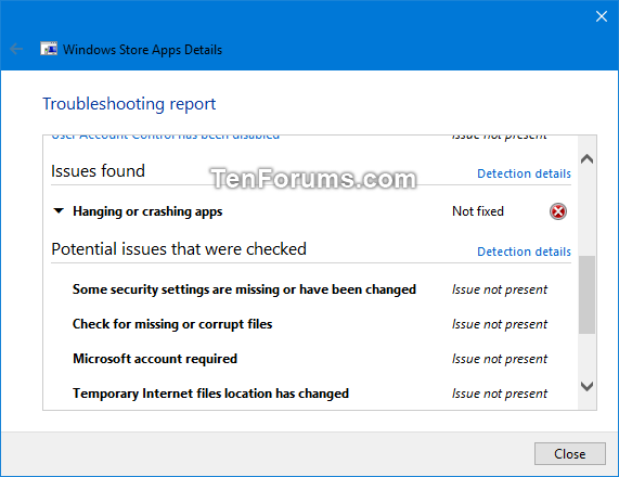 View Troubleshooting History and Details in Windows 10-view_troubleshooting_history-7.png