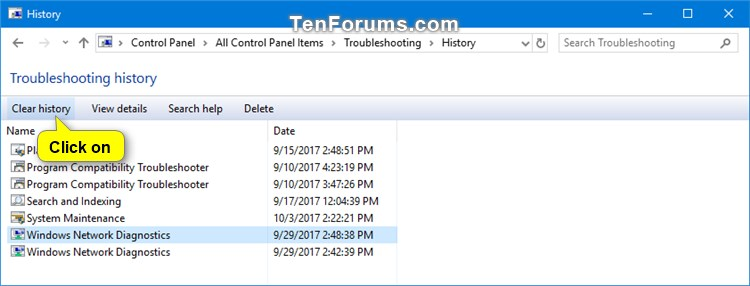 Name:  Clear_troubleshooting_history-1.jpg